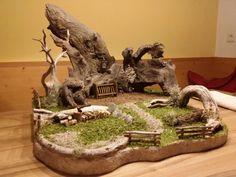 Nativity Stable, Miniature Crafts, Wood Art, Wordpress Theme, Diy And Crafts, Christmas Decorations, Fairy, Miniatures, Handmade