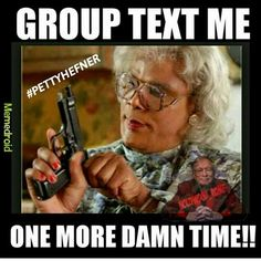I hate group texts!  Feel like I'm a prisoner in other people's convos that don't concern me!  Lol