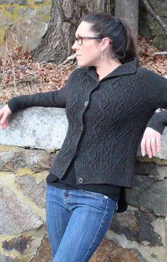 Oneiric Cardigan Knitting Pattern - Harrisville Designs