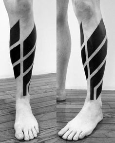 modern-lower-leg-calf-mens-blackwork-lines-tattoos.jpg 505×628 pixels