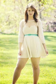 Dress: Coincidence & Chance from Urban. Curvy Girl Fashion, Plus Size Fashion, Womens Fashion, Casual Dresses, Short Dresses, Plus Size Beauty, Dress Skirt, Ideias Fashion, Cute Outfits