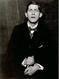 Hugo Erfurth, Der Maler Oskar Kokoschka, 1920