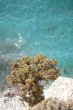 Komos beach in southern Crete.