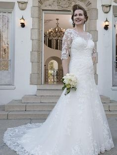 Venus Woman Bridal VW8735 Plus Size Bridal Gown $1102 No size upcharges & free shipping
