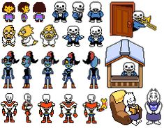 papyrus undertale sprite - Google Search