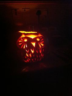 Halloween pumpkin 2014