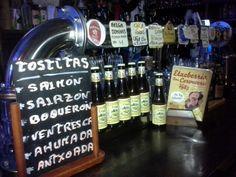 Grifos&botellas cerveceras!! ETXEBERRIA BAR DONOSTIA