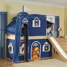 Fantasy Castle Loft Bed