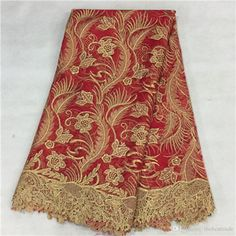 5yardsAfrican Lace With Stones ,Embroidery Textile Lace Fabric,African French Lace High Quality 2015 From Thebesttrade, $53.27 | Dhgate.Com