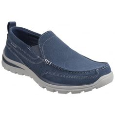 Superior Milford Navy Navy Shoes, Mens Trainers, Skechers, Slip On, Free, Shopping, Fashion, Men's Tennis Shoes, Moda