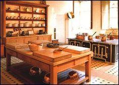Image title: Manderston Kitchen  Copyright statement: Manderston  Description: Edwardian kitchen