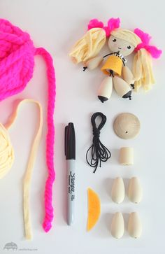 Make Wobbly Dolls With Small For Big