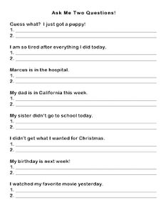 Ms. Lane's SLP Materials: Expressive Language - Formulating Questions. Pinned by SOS Inc. Resources. Follow all our boards at http://pinterest.com/sostherapy for therapy resources.