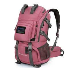 Features: 1. 40L High-capacity, Super carrying-CR professional adjustable weight decomposition system, rainproof design, 3D suspension system. 2. Lightweight compact packable daypack, Use SBS Zipper,