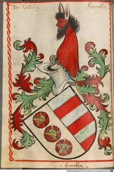 Scheibler'sches Wappenbuch Süddeutschland, um 1450 - 17. Jh. Cod.icon. 312 c  Folio 86