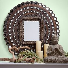 Marrakesh Oval Mirror   Mirrors   Mirrors-and-lighting   Z Gallerie