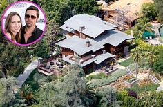 Angelina Jolie and Brad Pitt's California digs. Brad Pitt purchased this 5,338-square-foot Los Feliz, California home for 1.7 million dollars in 1994.