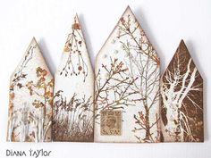 Winter Houses by Velvet Moth Studio: