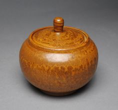 Handmade Clay Sugar Bowl Jam Jar L98 by JohnMcCoyPottery on Etsy. www.etsy.com/shop/JohnMcCoyPottery