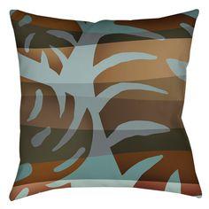 Tropical Leaf 4 Indoor/Outdoor Throw Pillow