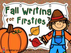 Fall Writing for Firsties is a packet of first grade writing activities with a fall season theme. The writing activities can be used for a writers workshop, at a thematic writing center, or for independent and guided writing practice.The packet includes:1.
