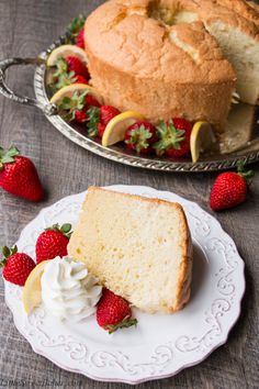 A delicious soft, fluffy, light as air cake in it's simplest form. Chiffon cake is similar to angel cake, but more flavorful because of the egg yolks and more moist because of the oil. See how easy it is to make a classic chiffon cake. {Video Recipe}
