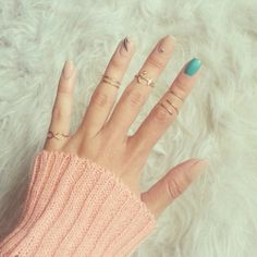 So delicate.  Get your own infinity ring here: http://adornedlove.com/collections/rings/products/infinity-knuckle-ring