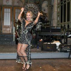 Beyoncé after Solange's SNL performances.