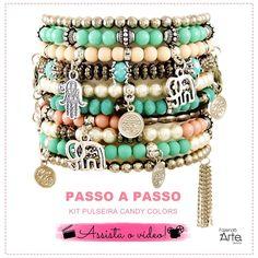Beaded Brooch, Beaded Jewelry, Gemstone Bracelets, Bangles, India Jewelry, Stretch Bracelets, Fashion Accessories, Chokers, Jewelry Making