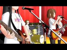 【MMD】K-on - 『U&I』.flv - YouTube