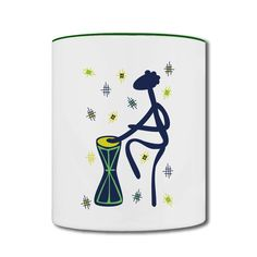 Climbing Little People Two-tone Mug Online-Funny Accessories Free Shipping!No setup fees. Get your t-shirts or phone cases printed at awesomely low prices!