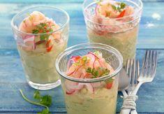 Céviche de crevettesVoir la recette ducéviche de crevettes