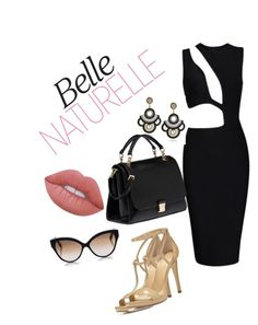 """""""Belle Naturalle"""" by shauntehouston on Polyvore featuring MICHAEL Michael Kors, Cutler and Gross, Miu Miu, Lime Crime and fashionblogger"""