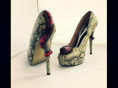 So what have I been up to lately? Making lots of fab clothes shoes and accessories. All will be available for sale at www.chelise.co.uk  Viper snake shoes.  #chelise #viper #snake #python #snakeshoes #vipershoes #pythonshoes #snakeskinshoes #snakeskin #uniqueshoes #snakestilettos #viperstilettos #pythonstilettos #snakeheels #snakeeyes #cutesnakeshoes #pinksnake #pinksnakeshoes #greysnake #greysnakeshoes