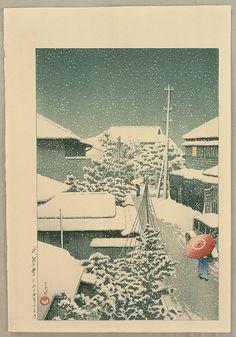 川瀬 巴水(Hasui Kawase)... | Kai Fine Art