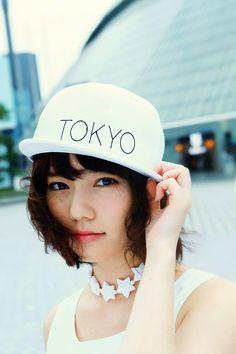 shimazaki haruka. are you  a skater girl? #tokyo