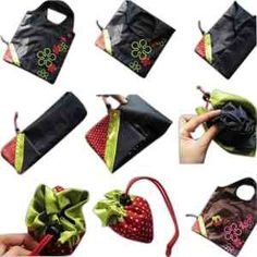 Strawberry Tote Bag #promotionalproducts
