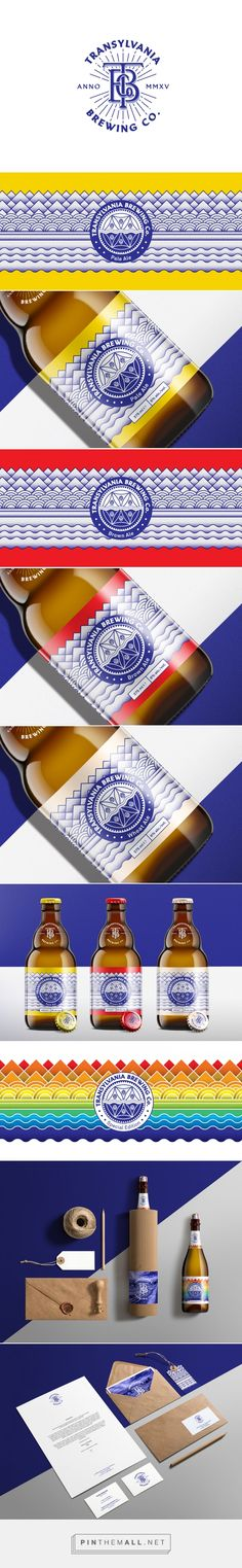 Branding, illustration and packaging by Transylvania Brewing Company - TBCo.™ on Behance by brandmór / Makó Lehel Mór Bucharest, Romania curated by Packagin Diva PD. A brewery producing handcrafted beers of classic and original styles.