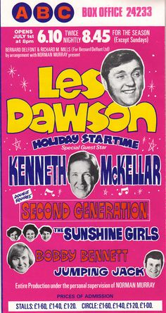 Les Dawson, Stage Show, Old Building, Blackpool, Special Guest, Theatre, How To Plan, Theatres, Theater