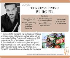 Turkey & Fixins' Burger #VeteransDay