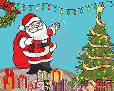 Christmas surprises illustration by Diana Toma, via Dreamstime