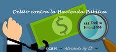 Delito contra la Hacienda Pública | Conceptos básicos – Agente de Hacienda Pública – Oposiciones Tech Companies, Company Logo, Logos, Haciendas, Concept, Logo