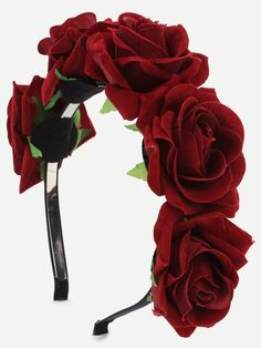 SheIn offers Burgundy Flower Crown H… Shop Burgundy Flower Crown Hairband online. SheIn offers Burgundy Flower Crown Hairband & more to fit your fashionable needs. Burgundy Flowers, Red Roses, Diy Headband, Headbands, Diy Flowers, Flowers In Hair, Diy Hairstyles, Wedding Hairstyles, Halloween Headband
