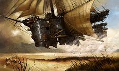 Munin's Sketch-blog: Bedouin Punk: Voyage of the Sand Maiden