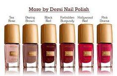 Koleksi nail polish more by demi