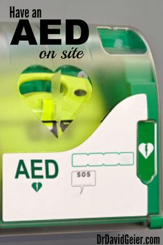 054c5c6021b845 Have an AED on site at sporting events from DrDavidGeier.com Sports  Medicine