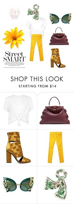 """Shopping Day"" by teez-fashionxc on Polyvore featuring Fendi, Marco de Vincenzo, 7 For All Mankind, Dolce&Gabbana and Tory Burch"