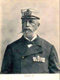 King Oscar II of Sweden-Norway.