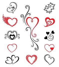 tattoo – Herzen Tattoos: Ich liebe die in der Mitte, oder zumindest das Herz, möchte ich das wichtigste Herz in grün für meine Mutter zu tun… vol 10279 | Fashion & Bilder