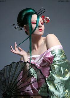 Geisha__ Undina by Morgen5tern.deviantart.com